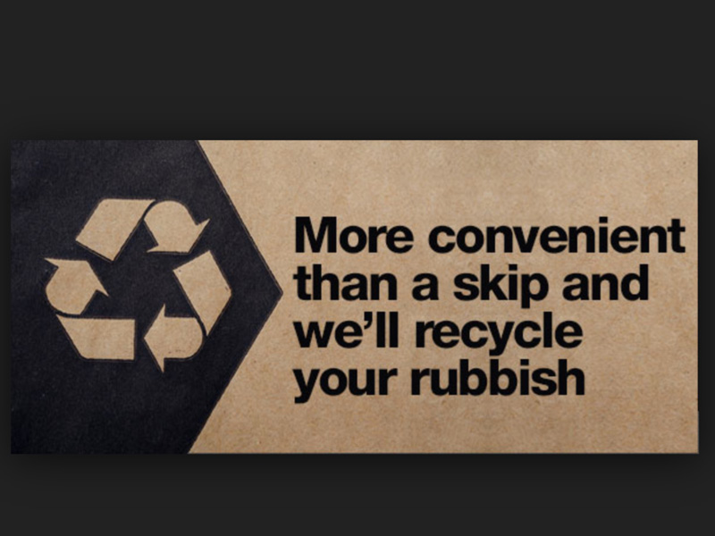 Stress free rubbish collection